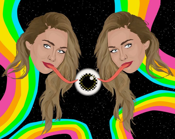 Miley in Space - Face Junkie