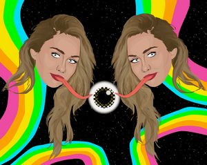 Miley in Space
