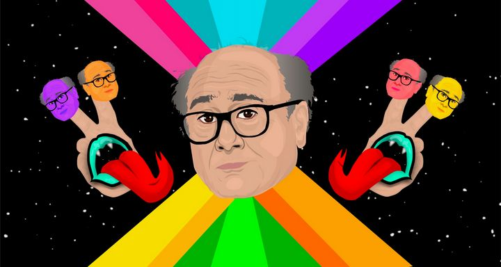 Danny Devito and the Peaceful Pals - Face Junkie