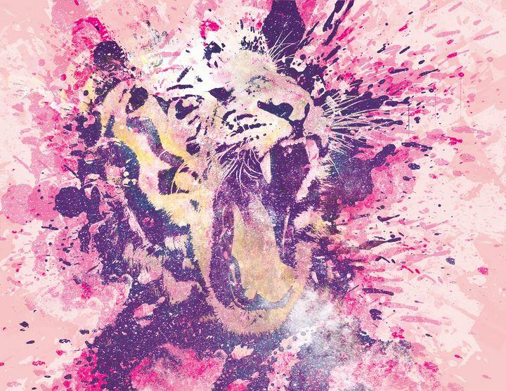 Tiger Art Portrait - Tou Xiong