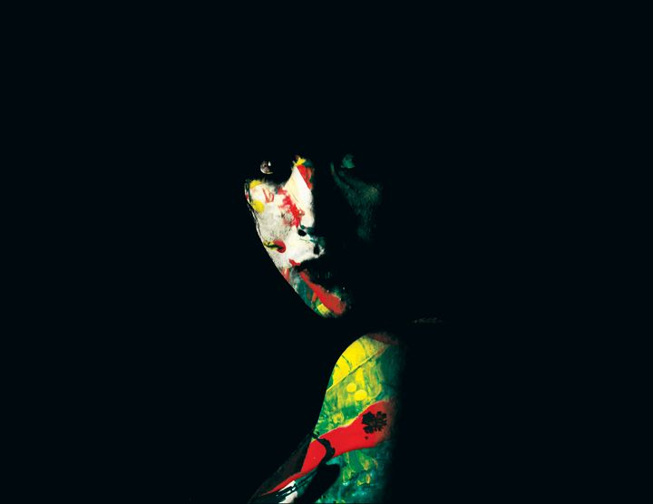 Creeps 01 Graphic Art Portrait - Tou Xiong