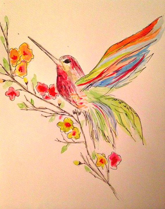 Colours of spring - Elisabeth Elder-Gomes