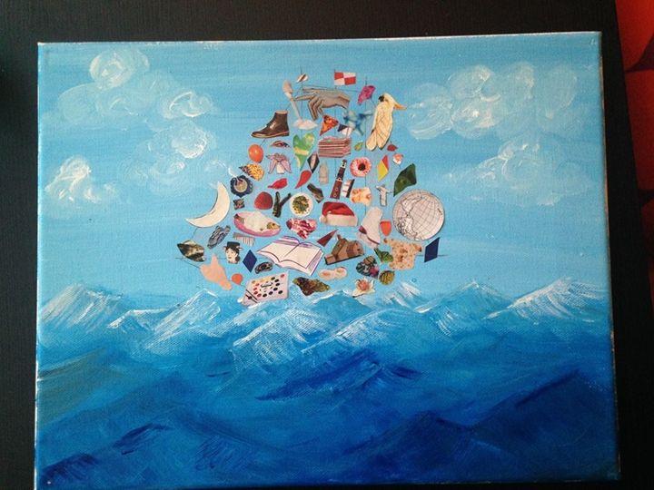Come sail away - Elisabeth Elder-Gomes