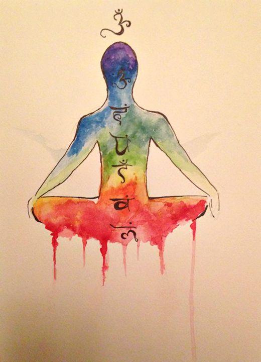 The 7 chakras - Elisabeth Elder-Gomes