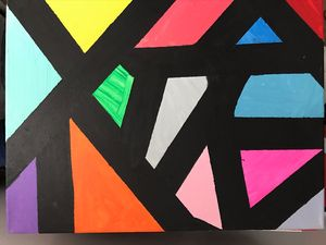 Different shapes and colors
