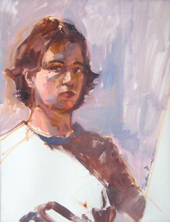 Self Portrait 2005 - Sandy Parsons - Available Artwork