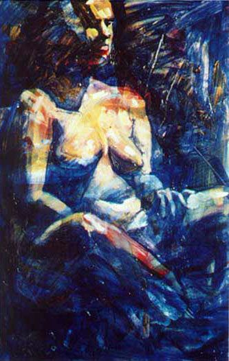 Nude Wipe Out - Sandy Parsons - Available Artwork