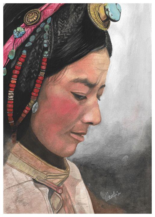 Tibet - Cecilia's Canvas