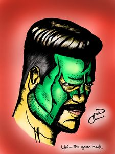 Uni-the green mask