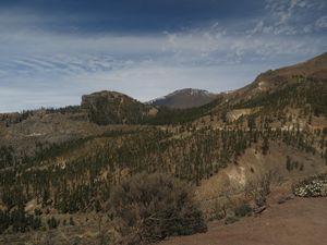 The green peak, Mount Tiede