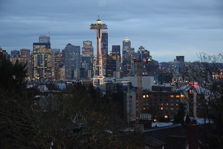 Seattle skyline - Ngtimages