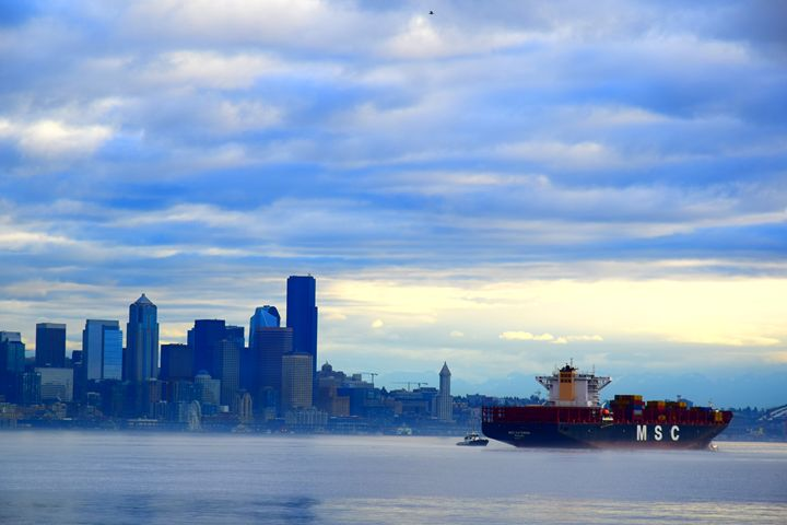 Seattle bay - Ngtimages