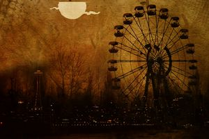 Midnight ferris wheel - Ngtimages