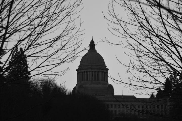 Washington State Capital b/k - Ngtimages