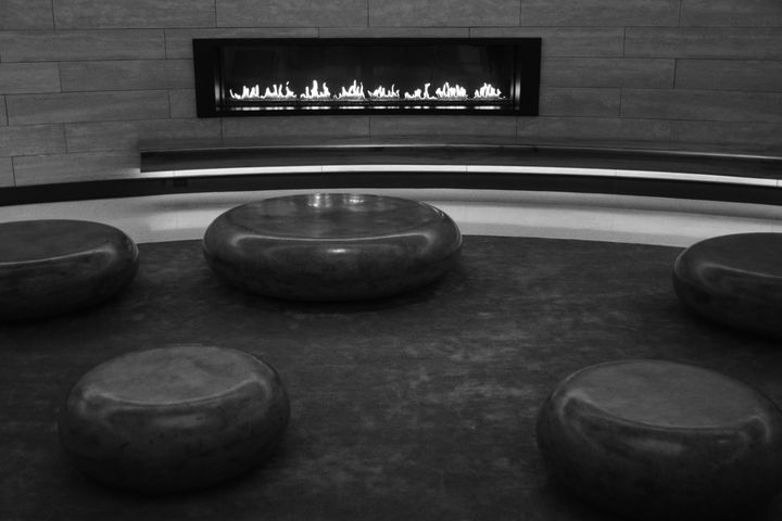The Lobby bw - Ngtimages