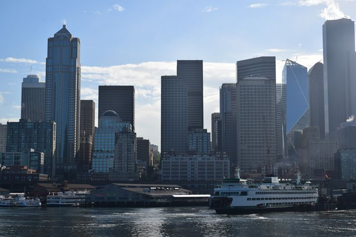 Seattle ferry - Ngtimages