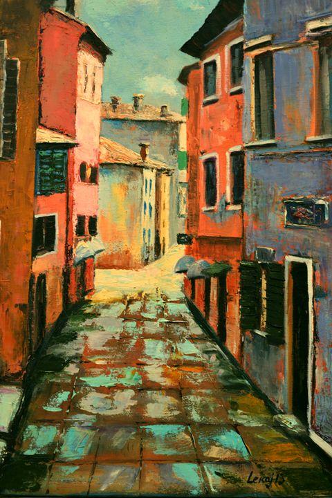 Street in Florence - atelje lerok