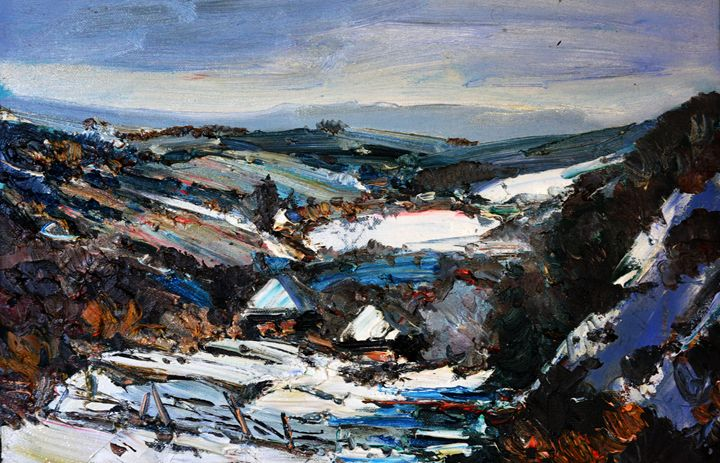 Winter in the mountains - atelje lerok