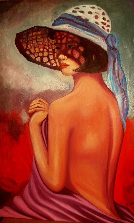 lady with hat - atelje lerok