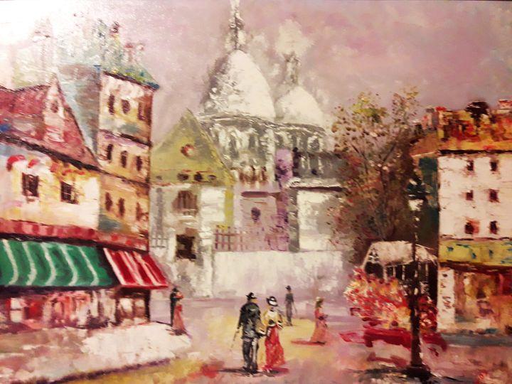 Sacré-Coeur à Montmartre - atelje lerok