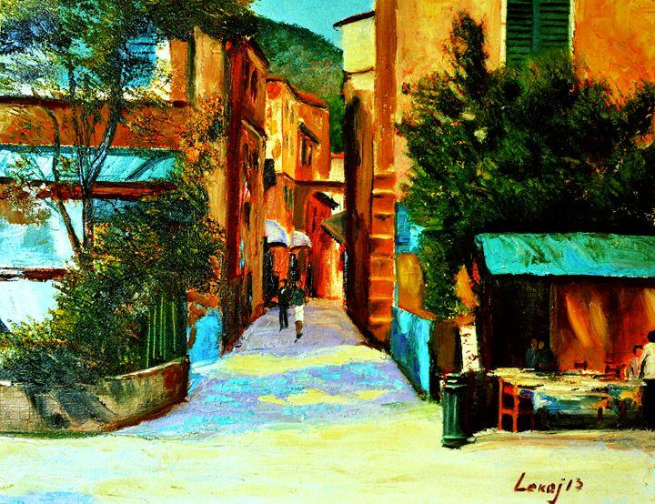 Mediterranean afternoon - atelje lerok