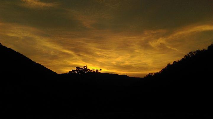 Sunset - atelje lerok