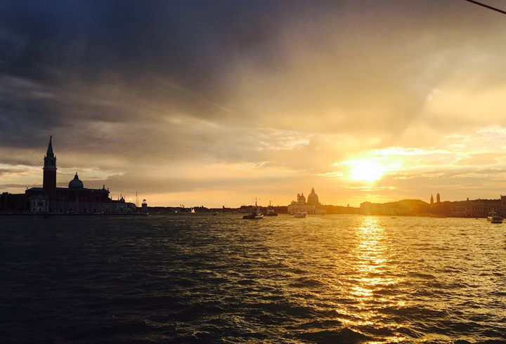 Sunset in Venice 1 - atelje lerok