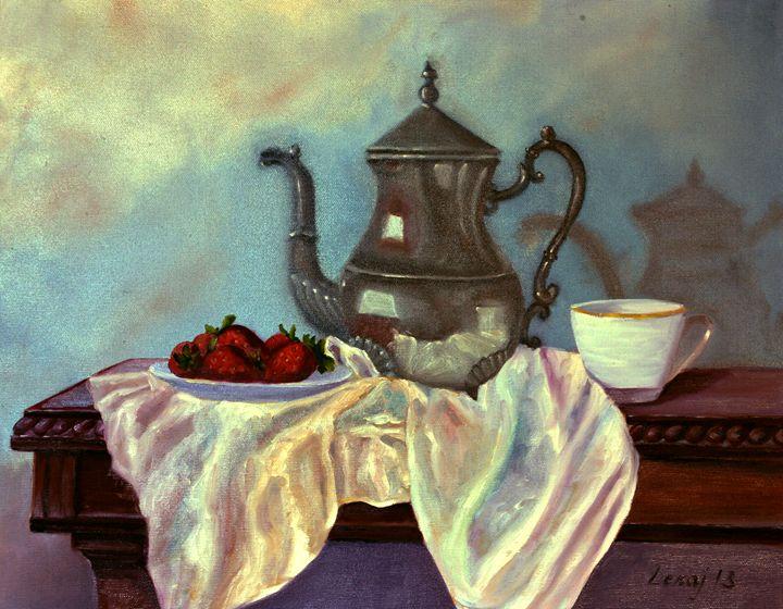silver teapot - atelje lerok