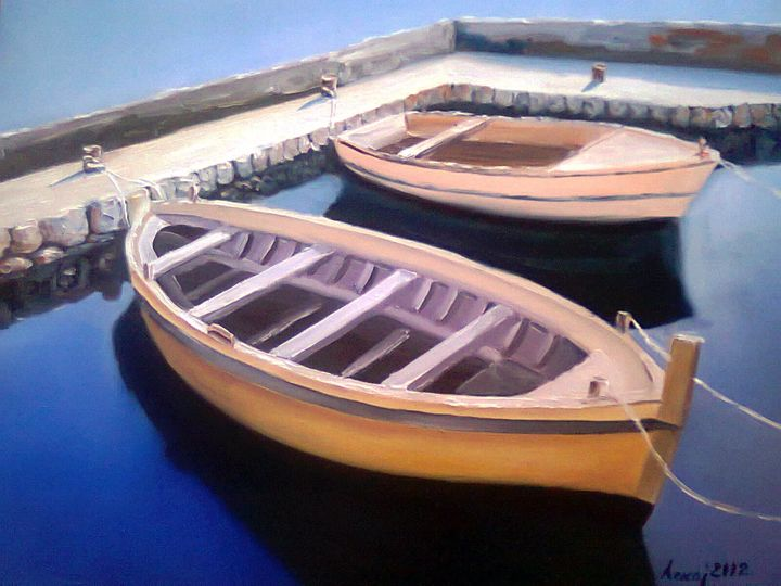 two boats - atelje lerok
