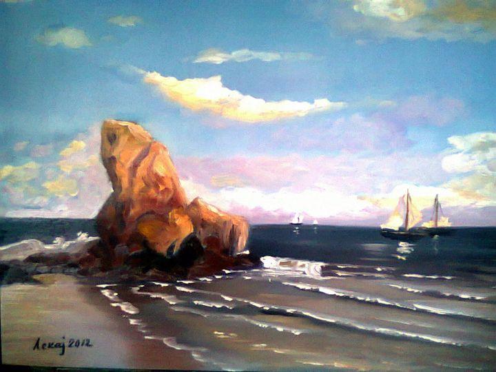 Mediterranean coast - atelje lerok
