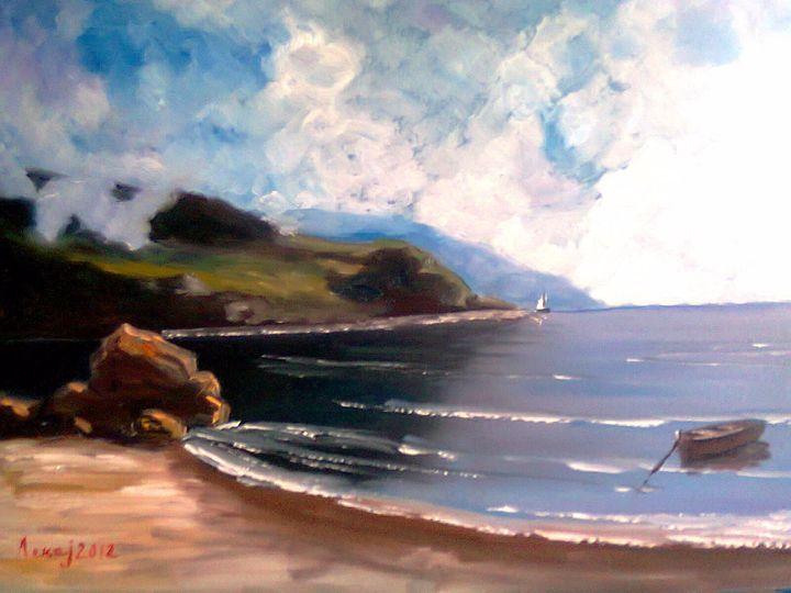 Mediterranean coast 1 - atelje lerok