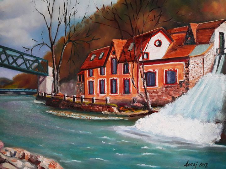 old hydropower plant in Uzice - atelje lerok