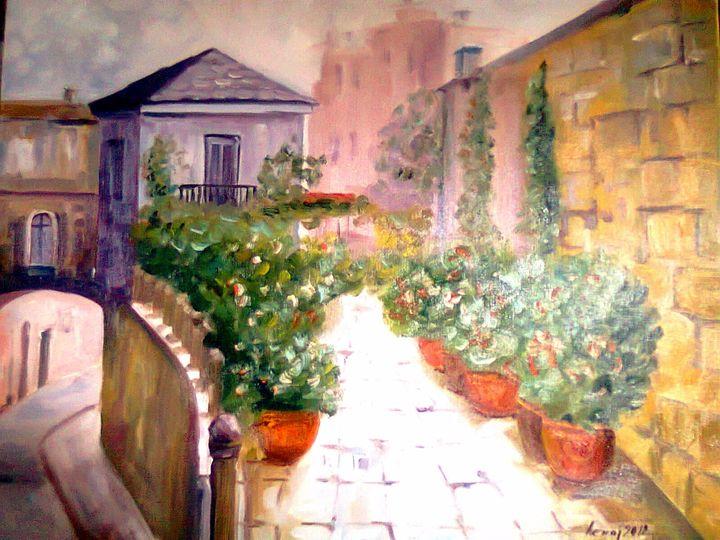 Mediterranean Street 1 - atelje lerok