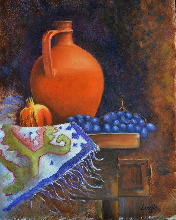 jar and pomegranate - atelje lerok