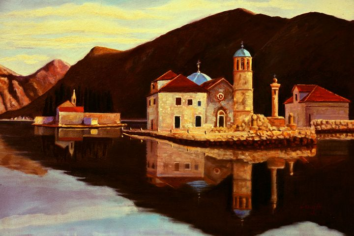 Our Lady of the Rocks - Montenegro - atelje lerok