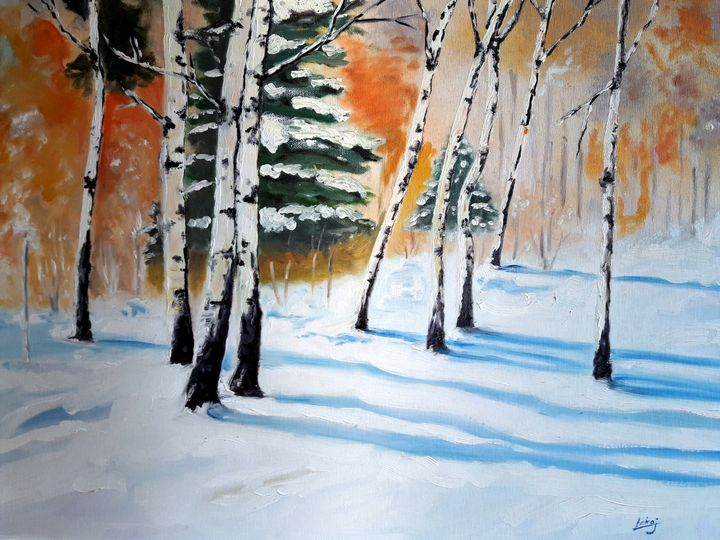 birch in winter - atelje lerok