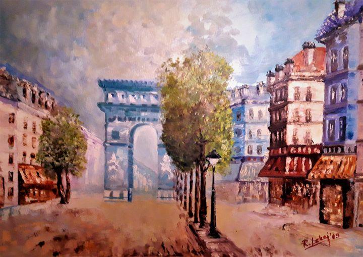 old Paris - atelje lerok