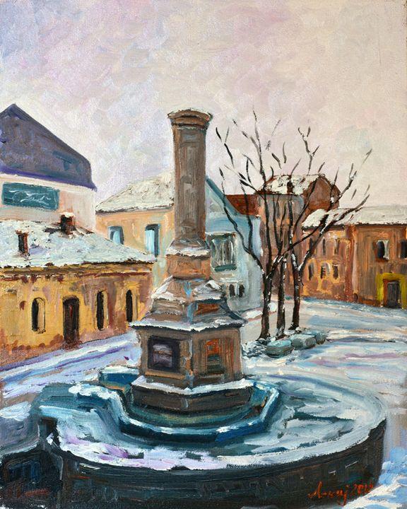 The old fountain - atelje lerok