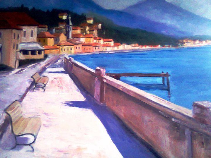 Mediterranean promenade 1 - atelje lerok