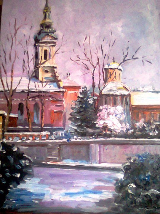 Cathedral in Belgrade - atelje lerok