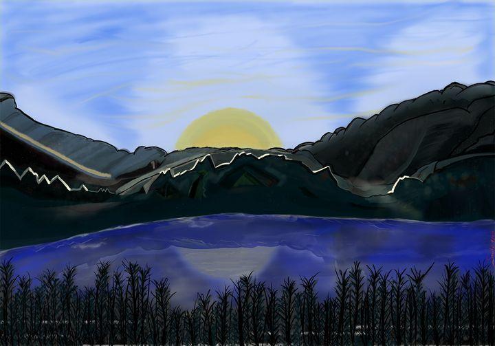 Sunset - Maria Porfil