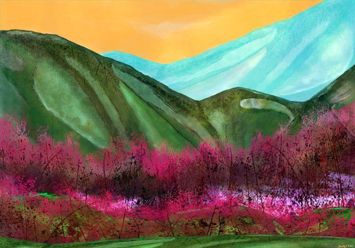 Red Ridge Mountains - Maria Porfil