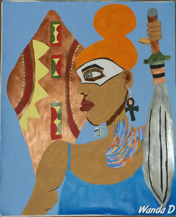 Warrior Princess - Creation by Wanda