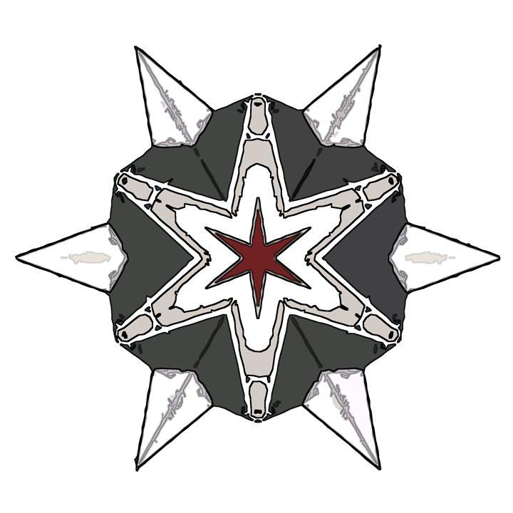 Hexagram - Kaleidos, Mandalas, and Designs