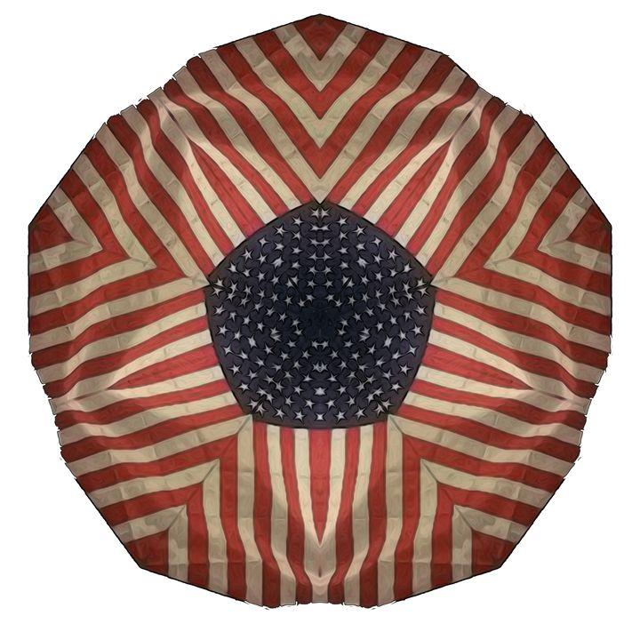 Stars and Stripes - Kaleidos, Mandalas, and Designs