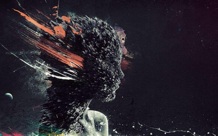 Explosion Girl - Arts & Frame
