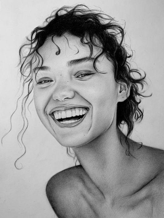 Happy - Artbymigena