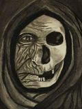 The Face of Death Original Drawing