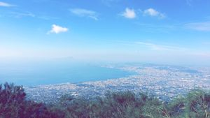 Top of Mount Vesuvius