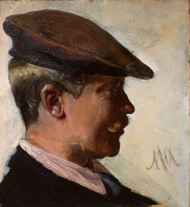 Michael Ancher~Jacob Sømme - Old classic art